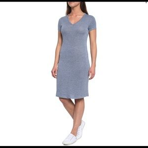 Philosophy Dress V-Neck Shirttail Hem Dress S
